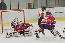 Hokejové derby Chrudim - Hlinsko.