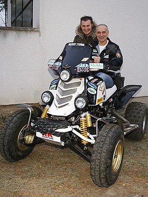 Josef Macháček před Rallye Dakar.
