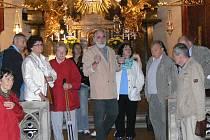 Prohlídka kostela Nanebevzetí Panny Marie s průvodcem Tomášem Pavlíkem.