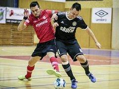 Futsal: Era-Pack Chrudim - Démoni Česká Lípa.