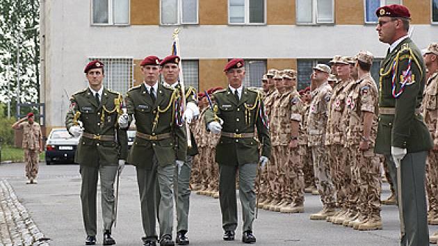 Chrudimští vojáci míří do Afghánistánu.