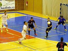 Poslední utkání základní části Chance futsal ligy: Era-Pack Chrudim porazil doma Benago Zruč nad Sázavou 7:0.