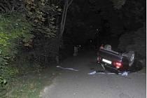 Nehoda opilého a vybodovanéo řidiče