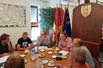 Začala rekonstrukce hasičské zbrojnice v Třemošnici