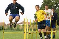 """""""Afrkáči"""" absolvovali v Rozhovicích první trénink před sezonou 2008/09."""