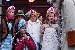 Rozsvěcení vánočního stromu v hlineckém Betlémě.