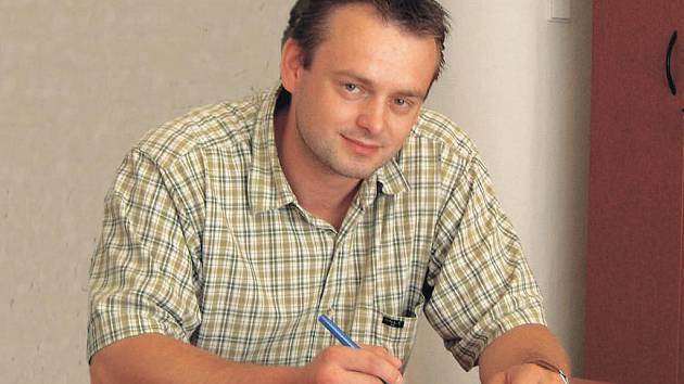 Starosta Luže Radek Zeman