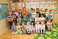 Prvňáčci z 1. B Základní školy Chrast, kterou vede paní učitelka Monika Palatová.
