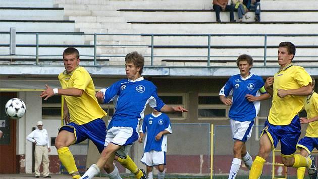 Starší dorostenci AFK Chrudim porazili doma FC Slovan Liberec B 3:2.