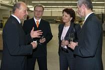 Zahájení provoz chrudimské firmy Jan Ficek Dřevovýroba v průmyslové zoně.