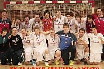Futsaloví junioři Era-Packu s bronzovou medailí.
