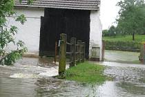 Záplavy na Chrudimsku, 25. 6. 2013 - Bošov