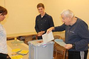 Prezidentské volby na Chrudimsku obrazem
