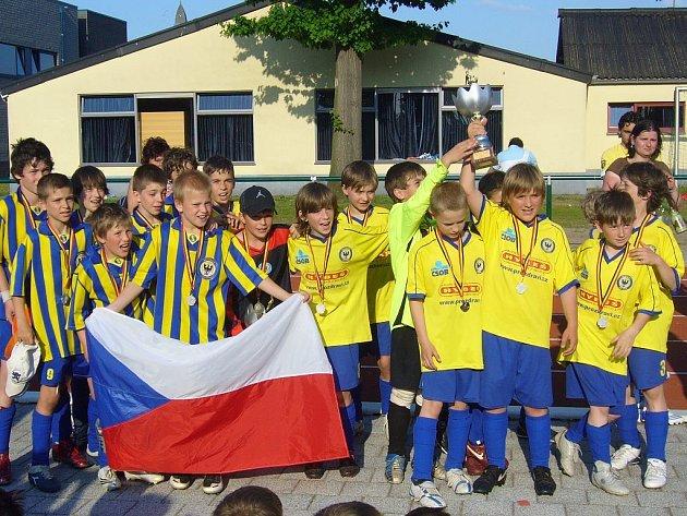 Přípravky AFK slavily úspěch na turnaji v Belgii, kde obsadily první dvě místa.