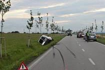 Při srážce dvou vozidel mezi Heřmanovým Městcem a Rozhovicemi nebyl nikdo zraněn.
