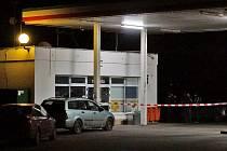 Benzinová čerpací stanice v Zaječicích se stala v sobotu 8. února 2014 terčem lupiče.