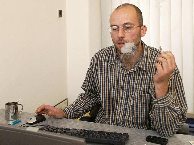 Redaktor Deníku Kamil Dubský.