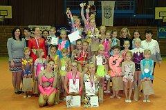 Chrudimský oddíl moderní gymnastiky T. J. Sokola Chrudim zakončil sezónu v domácím prostředí.