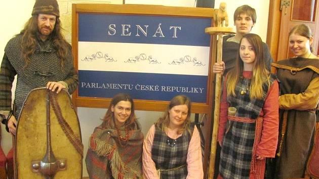 Keltové v sídle Senátu vzbudili pořádný rozruch.