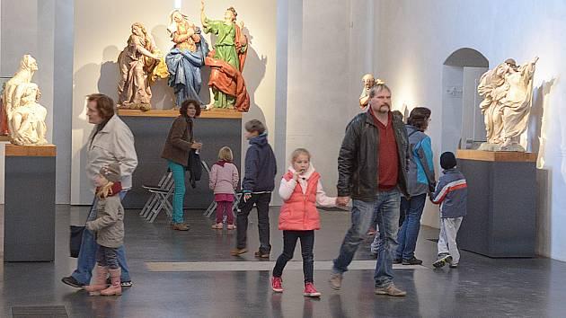 Dušičkový program na závěr sezony v Muzeu barokních soch.