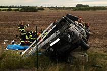 Vojáci bourali cestou na cvičení. Jeden z nich při nehodě zemřel.