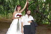 Svatba Michaely a Tomáše začala v pravé poledne.