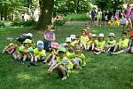 Bezpečné prázdniny přinesly dětem zábavu i ponaučení, jak dbát o svoji bezpečnost.
