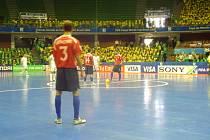 Česká futsalová reprezentace se rozloučila se světovým šampionátem v Brazílii.
