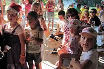 Dětský den a loučení s prázdninami v Morašicích uspořádali zdejší dobrovolní hasiči.