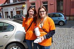 Studentky Valerie Šindlerová a Lucie Žufánková
