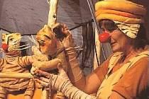 Pohádku Tygr bábovek uvede Muzeum loutkářských kultur v Chrudimi v neděli odpoledne.