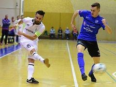 VARTA futsal liga: FK ERA-PACK Chrudim - SK Olympik Mělník.