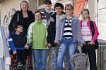 Momentky ze života klientů Domova sociální péče ve Slatiňanech .