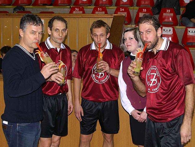 Hotelová škola Bohemia v Chrudimi pořádala tradiční středoškolský turnaj  v sálové kopané.