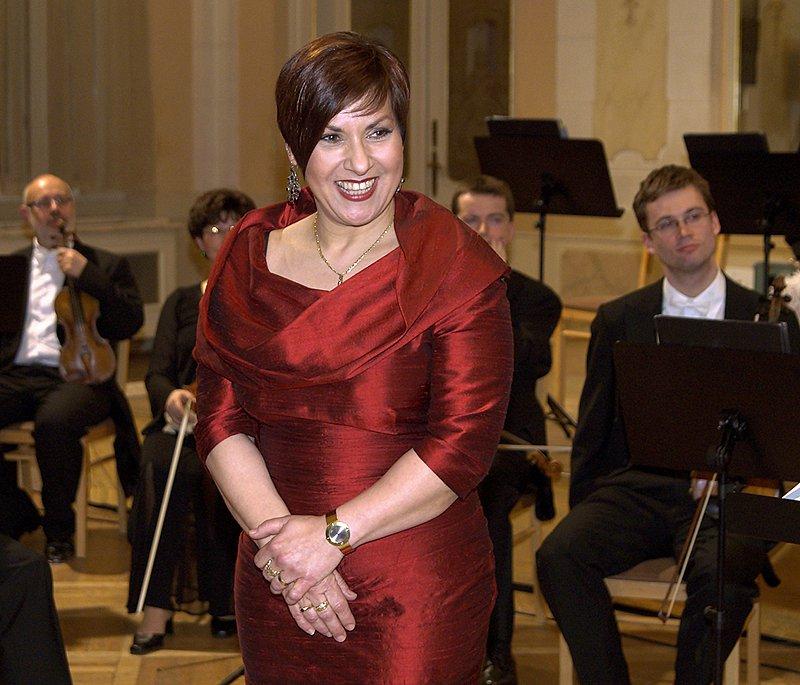 Dagmar Pecková v Chrudimi.
