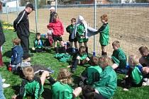 Fotbal má v Zaječicích své místo.