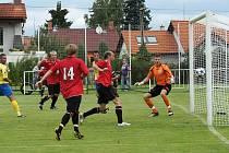 První gól MFK Chrudim v ČFL vsítil Petr Vladyka.
