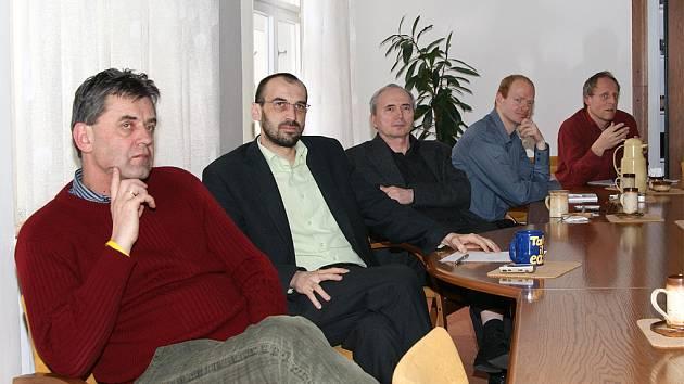 Radní Chrudimi jednali se zástupci zadavatele územního plánu města.