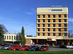 Hotel Bohemia v Chrudimi.