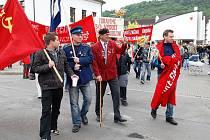 """Recesisté uspořádali v Třemošnici 1. května již popatnácté """"Oslavu 1. máje""""."""