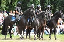 Na zámku ve Slatiňanech se konal velký Jezdecký den.
