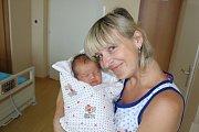 ANNA KŘÍŽOVÁ. Zprvorozené dcery se radují Michal a Lenka z Třemošnice. Na svět přišla 14.8. ve 20:14 s váhou 3,19 kg a mírou 49 cm.