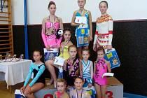 Říjnová výprava moderních gymnastek za Krakonošem i pozvánka na Podzimní pohár