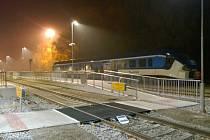 Železniční stanice v Hlinsku