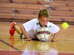 Chrudimský Futsal Camp 2016 pro děti, 2. srpna 2016.