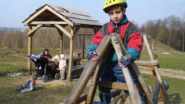 Dětské hřiště na Podhůře.
