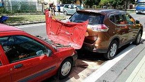 Pondělní nehody na Chrudimsku