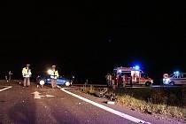 Křižovatka se silnicí 1. třídy u Medlešic bývá označována za jedno z nejnebezpečnějších míst na silnicích Pardubického kraje.