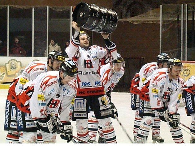 Takhle slaví chrudimští hokejisté ... Připojte se k nim i vy!