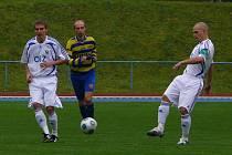 Z divizního fotbalového utkání AFK Chrudim - Letohrad.